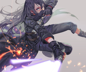 kirito, sword art online, and anime image
