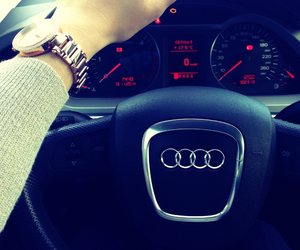audi, voiture, and montre image