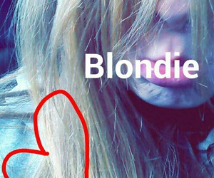 blond, blondie, and cute image