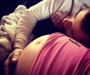 couple, daddy, and pregnancy image