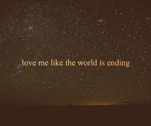 love, quote, and stars image