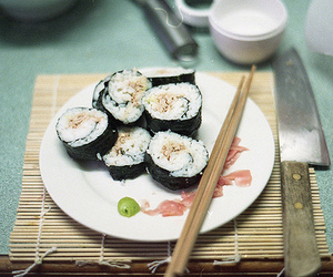 sushi, food, and photography image
