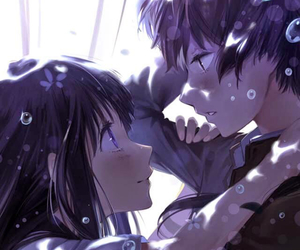 anime, hyouka, and anime couple image