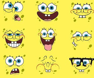 yellow, spongebob, and wallpaper image