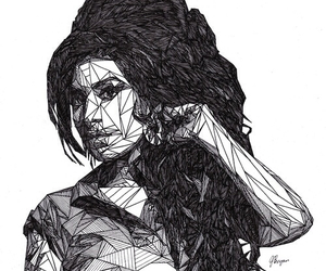 Amy Winehouse, art, and music image