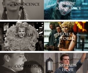 hunger games, katniss, and prim image