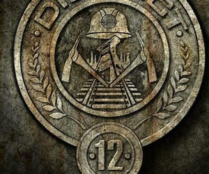 the hunger games, district 12, and hunger games image