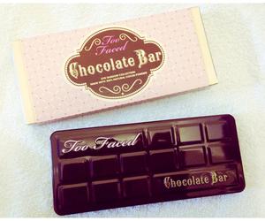 too faced, chocolate bar, and makeup image