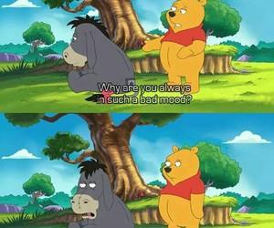 9gag, winnie the pooh, and eeyore image