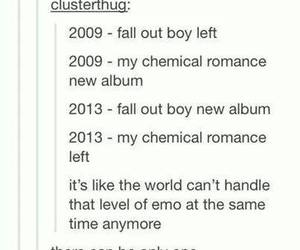 fall out boy, FOB, and mcr image