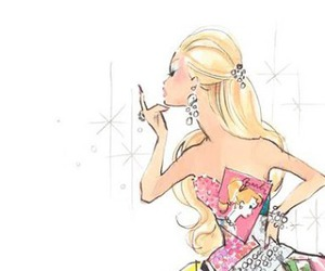 barbie, beauty, and cartoon image