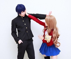 toradora, cosplay, and anime image