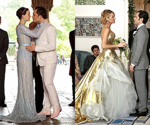 gossip girl, wedding, and blair waldorf image