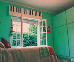 aqua, beauty, and bed image