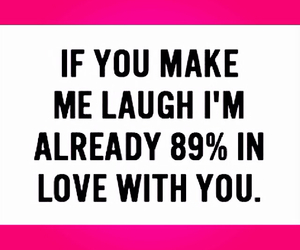 funny, in love, and laugh image
