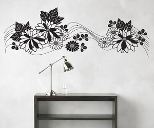 home decor, interior design, and wall decal image