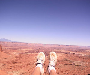 canyon, shoes, and shoefie image