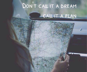 Dream and plan image