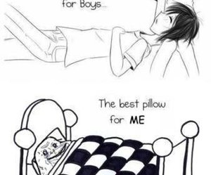funny, pillow, and forever alone image