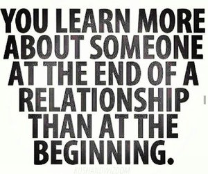 Relationship, end, and quote image