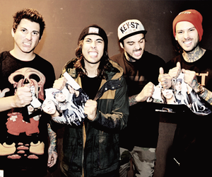 mike fuentes, tony perry, and vic fuentes image
