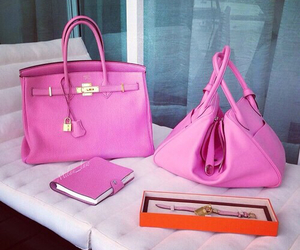 bags, barbie, and pink image