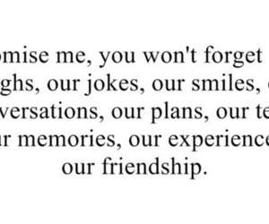 quotes, friendship, and promise image