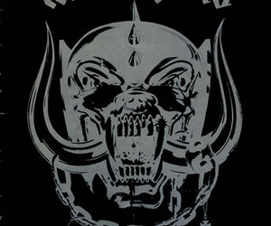 band, black and white, and motorhead image