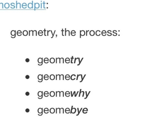 funny, geometry, and school image
