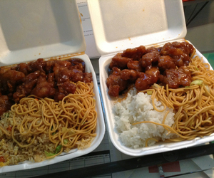 Chicken, chinese, and delicious image