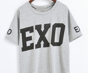 grey, kpop, and tee image