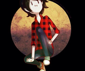 adventure time, cartoon, and marshall lee image