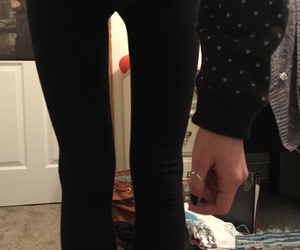 leggings, sweater weather, and november image