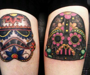tattoo, star wars, and darth vader image