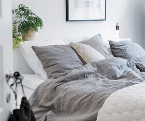 white, bedroom, and house image