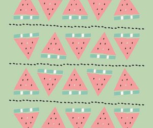 wallpaper, fruit, and watermelon image