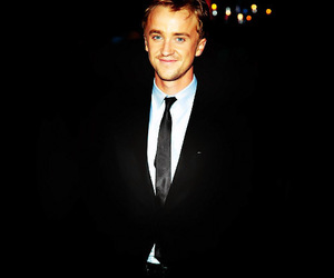 harry potter, tom felton, and boy image