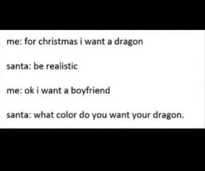 boyfriend, conversation, and dragon image