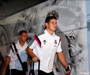 james rodriguez, real madrid, and james image