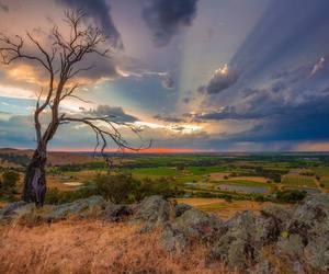 australia, sunrise, and landscape image