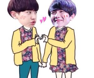 exo, chanyeol, and chanbaek image