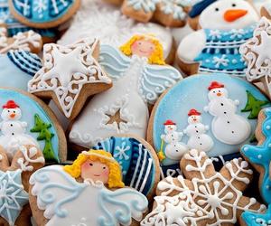 christmas, Cookies, and angel image