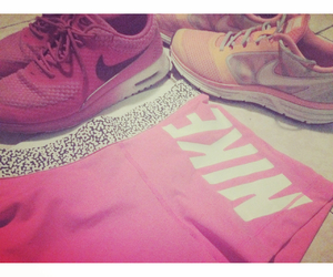 nike, pink, and short image