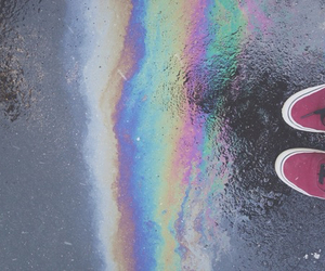 vans and rainbow image