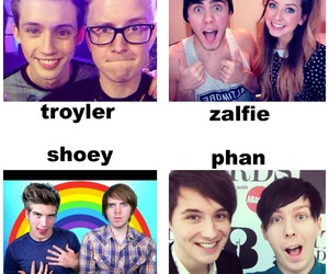 shoey, phan, and zalfie image