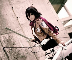 anime cosplay, shingeki no kyojin, and attack on titan image