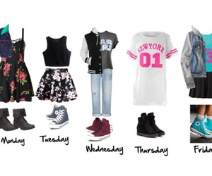monday, Polyvore, and outfits image