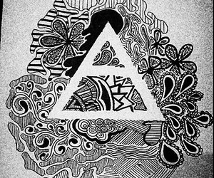 30 seconds to mars, art, and black or white image