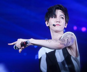 exo, exo-k, and tattoo image