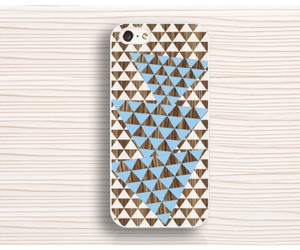 unique iphone 4s case, triangle iphone 5 case, and iphone 6 white case image